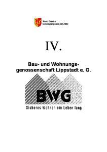 Stadt Erwitte Beteiligungsbericht 2003 IV
