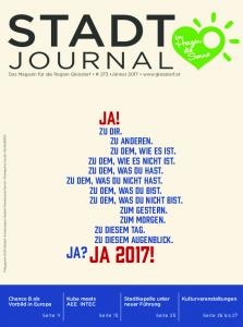 STADT JOURNAL JA! JA? JA 2017!