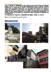 Stadtrundgang Plovdiv