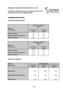 Stadtwerke Lippe-Weser Service GmbH & Co. KG