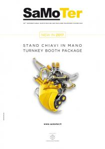StAND CHIAVI IN MANO TURNKEY BOOTH PACKAGE