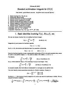 Standard archimedean integrals for GL(2)