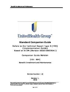 Standard Companion Guide