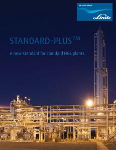 STANDARD-PLUS. A new standard for standard NGL plants