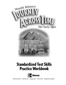 Standardized Test Skills Practice Workbook