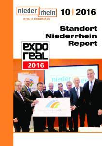Standort Niederrhein Report