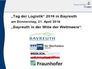 Standorte der bayernhafen Gruppe