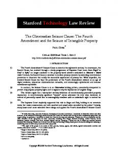 Stanford Technology Law Review