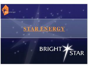 star energy STAR ENERGY