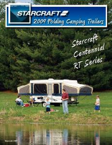 Starcraft Centennial RT Series