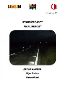 STARS PROJECT FINAL REPORT