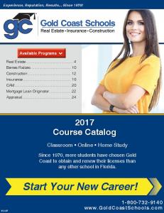 Start Your New Career!