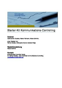 Starter-Kit Kommunikations-Controlling