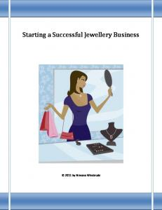 Starting a Successful Jewellery Business