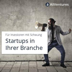 Startups in Ihrer Branche