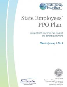 State Employees PPO Plan