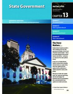 State Government CHAPTER 13