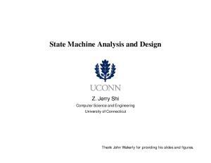 State Machine Analysis and Design