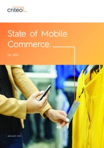 State of Mobile Commerce. Q
