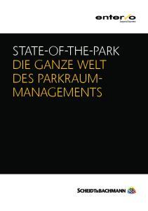 STATE-OF-THE-PARK DIE GANZE WELT DES PARKRAUM- MANAGEMENTS