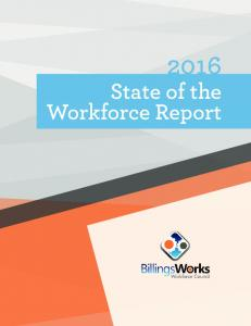State of the Workforce Report