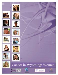 State of Wyoming Department of Health
