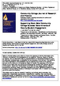State University, Columbus, Ohio, USA Published online: 17 Dec 2013
