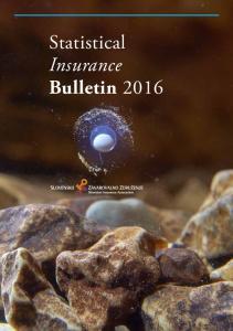 Statistical Insurance Bulletin 2016