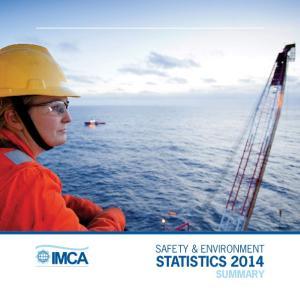 STATISTICS 2014 SUMMARY