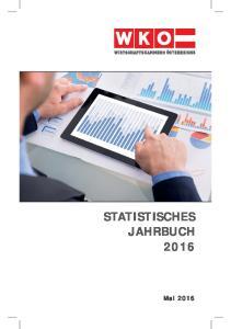 STATISTISCHES JAHRBUCH 2016