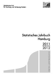 Statistisches Jahrbuch Hamburg 2011