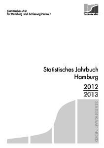 Statistisches Jahrbuch Hamburg 2012