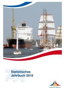Statistisches Jahrbuch HANSESTADT ROSTOCK 2016