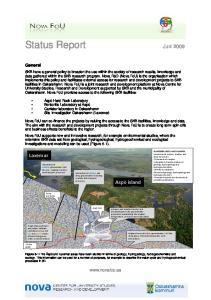 Status Report Juni 2009