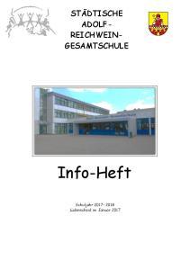 STÄDTISCHE ADOLF- REICHWEIN- GESAMTSCHULE