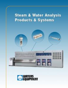 Steam & Water Analysis Products & Systems