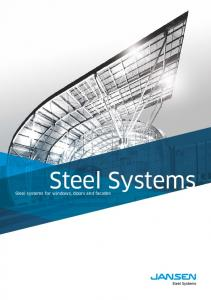 Steel Systems. Steel systems for windows, doors and facades