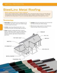 SteelLinx Metal Roofing