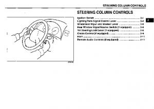 STEERING COLUMN CONTROLS
