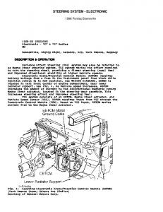 STEERING SYSTEM - ELECTRONIC