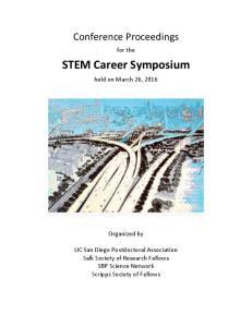 STEM Career Symposium