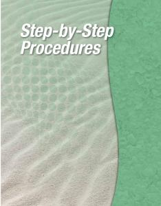Step-by-Step Procedures