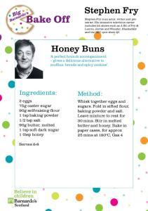 Stephen Fry. Honey Buns. Ingredients: Method: Notes: