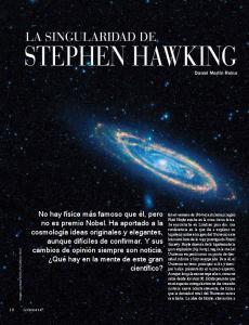 Stephen Hawking. La singularidad de