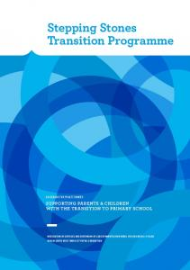 Stepping Stones Transition Programme