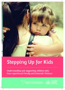 Stepping Up for Kids