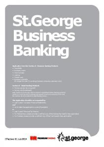 St.George Business Banking