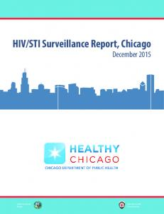 STI Surveillance Report, Chicago December 2015