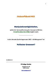 Stickstoffdioxid NO2