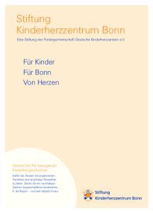 Stiftung Kinderherzzentrum Bonn